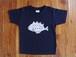 オリジナル魚Tシャツ、キッズ