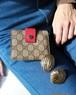 GUCCI monogram mini wallet