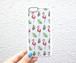 flamingo&leaf iphone case