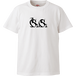 『Si×Si』Tシャツ 白(文字のみ)