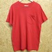 FRUIT OF THE LOOM USA製 pocket tee  XL