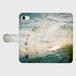 空と観覧車 各種iPhone 手帳型スマホケース iPhoneX対応商品