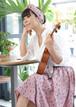 nd-1210/03AK  akiko x N_DRESS Circular skirt