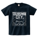 TSUBOMIN / BANDANA TSUBOMIN CITY T-SHIRT NAVY