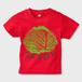 SAVOY(サボイ・キャベツ)1  キッズTシャツ レッド