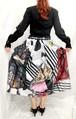 ファッションデザイン画スカートⅢ