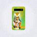 アカアシドゥクラングールの親子 モバイルバッテリー(本体のみ)