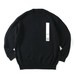"SO ""CREPUSCULE"" TENJIKU LONG SLEEVE KNIT(Men's,BLACK)"