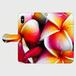 手帳型プルメリアスマホケース インスタ映えするプルメリアデザイン PlUmeriaDesign
