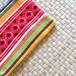 タイのやさしい手作り財布/赤黄柄