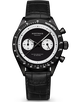 HOFFMAN WATCHES  RACING 40 BLACK&WHITE (SEIKO MECHA QUARTZ) Limited 100pcs