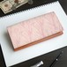 フラップ 長財布(フェミニン チューリップ)オールレザー 革 レディース ILL-1158