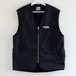 REVERSIBLE VEST(0001-FK-VT01)BLACK