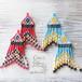 ◆SALE ¥300 OFF◆ Hippie&Ethnic Fringe Pierce/Earrings -Red-
