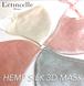 NEW ヘンプシルク3Dマスク シルバー