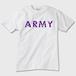 【ねこTシャツ】ARMY Tシャツ 白 猫デザイン