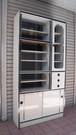 レトロな食器棚【白/90】(0318101D)