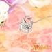【グルーデコ】アロマ香るハンドバッグ ペンダント☆スワロフスキー社製ストーン仕様☆