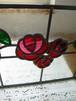 ステンドグラスパネル015 antique rose