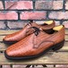 1970s Lotus Grain Leather Square Toe Shoe UK8
