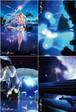 【KAGAYA】ポストカード 「スターリーテイルズ」4枚セット art by KAGAYA