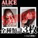 【チェキ・全種類計3枚】ALICE(Risky Melody)