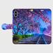 (iPhoneX サイズ)手帳タイプ:夢色の軌道(KAGAYA)