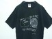 1990's FRUIT OF THE LOOM プリントTシャツ USA製 黒 表記(L)