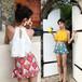 【送料無料】【2色】フレア レース タンキニ ハイウエスト 水着 セットホルターネック リゾート 夏 プール