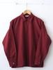 FUJITO Half Zip Shirt Burgundy,Navy