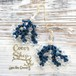 Coralreef motif Pierce -Navy-