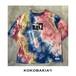 半袖Tシャツ タイダイ カットソー Nirvana Kurt Cobain【ニルバーナ カートコバーン】コラージュプリント メンズ レディース #ロックファッション #ストリートファッション