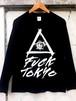 『Respect Tokyo Underground』ロングスリーブTシャツ(Black)
