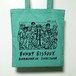 BUNNY BISSOUX FAN CLUB - トートバッグ - MINT