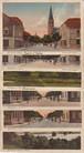 古絵葉書エンタイア セット「ドイツ(ライン)の風景等6枚」(1922年)