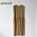 Phlannel/フランネル・American Seailand Linen Low Waist Dress
