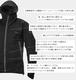 【airista/エアリスタ】 UL Windstop + Dry JK超軽量完全防水レインジャケット