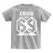 ERICH / NUMBER 69 T-SHIRT GRAY
