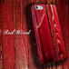 Red Wood プリント スマホカバー iPhone / Android