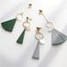 送料無料 SELECT アシンメトリー ウッドモチーフ 揺れるピアス アクセサリー レディース ファッション 通販
