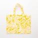 唐草牡丹のミニトート(マチなし) Mini tote bag(Arabesque & peony pattern)