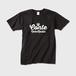 コントネコラジオTシャツ003-メンズ ブラック