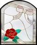本物のステンドグラス ピュアグラス ステンドグラス (株)セブンホーム SH-K16