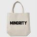 Cracked Code name MINORITY/トートバッグ/ベージュ