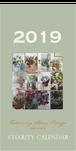 2019年チャリティーカレンダー