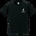 "T-shirt ""Aufheben Rock N Roll"" S/S Black×White"