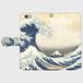 SOUVENI-ART 葛飾北斎「富嶽三十六景 神奈川沖浪裏」 手帳型スマホケース