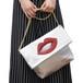 くちびるショルダーバッグ シルバー    Lips Shoulder bag Silver