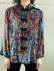 Vintage Velvet See Through China Jacket