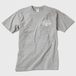 ロゴTシャツ(白文字)